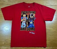 """LEGO The Lego Movie """"Everything Is Awesome"""" 100% Cotton T-Shirt Youth XL (14/16)"""