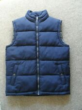 MANS GILLET / QUILTED JACKET. size small. BNWOT