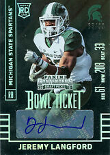 JEREMY LANGFORD 2015 CONTENDERS DRAFT BOWL TICKET RC AUTOGRAPH 65/99! FREE SHIP!