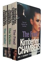 Kimberley Chambers 3 Books Mitchells & O'Haras Thriller Feud Victim Traitor New