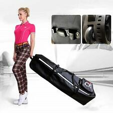 Golf Travel Bag Wheels Protector Black Guard Carry Rolling Club Cover US Stock