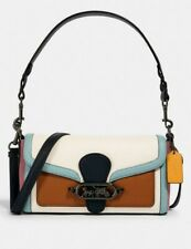 350$ COACH Jade Shoulder Bag In Colorblock