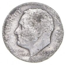 1953-D Roosevelt Dime - Jacobs Coin Collection *640