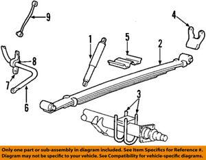 FORD OEM 08-09 E-350 Super Duty Stabilizer Sway Bar-Rear-Bushings D8TZ5493A