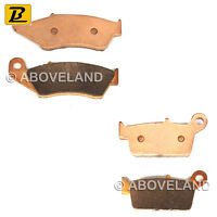 FRONT REAR Sintered Brake Pads for YAMAHA YZ 250 2T 2003-2004 2005 2006 2007