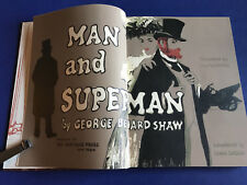 Man and Superman by Shaw, George Bernard Heritage 1962