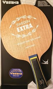 Yasaka Sweden Extra 5 Plies (ALL+) Table Tennis Blade