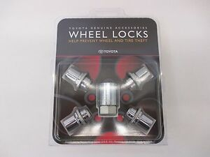 LEXUS OEM FACTORY WHEEL LOCK SET 2006-2018 IS250 IS350 00276-00900