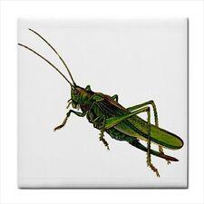 Grasshopper Grass Hopper Insect Art Ceramic Tile New