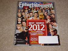 BEST & WORST #1239 December 28 2012 January 4 2013 ENTERTAINMENT WEEKLY MAGAZINE