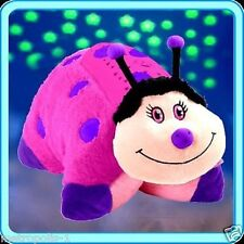 DREAM LITES,PILLOW PETS,HOT PINK LADY BUG,TURNS ROOM INTO A STARRY SKY,3+,NEW