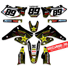 2005 2006  RMZ 450 GRAPHICS KIT SUZUKI RMZ450 MOTOCROSS DIRT BIKE DECALS