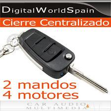 KIT CIERRE CENTRALIZADO PARA COCHE 2 MANDOS 1 MOTOR MAESTRO Y 3 MOTORES ESCLAVOS