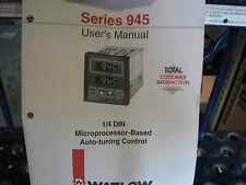 Watlow 945A-1FA2-A000 Microprocessor Auto Tuning Control NNB