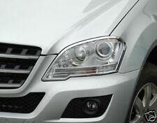 Mercedes W164 ML Chrome Headlamp surrounds Models from 08/2008 Onwards