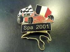 F1 Grand Prix Spa 2001 pin