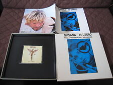 Nirvana In Utero EU CD in Pachyderm Sessions Box Photo Book Cobain Foo Fighters