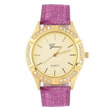 New Fashion Women's Casio Sub-brand Leather Band Steel Quartz Analog Wrist Watch