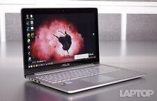 "Asus UX501JW Touch-Screen Laptop 15.6"" UHD 4K i7 quad 16GB 512GB M.2 SSD AC"