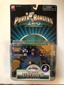 Power Rangers Zeo Micro Zord III Playset New On Card 1996 Blue Ranger Bandai
