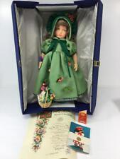 "20"" LENCI STEFANIA DOLL IN GREEN DRESS 1980"