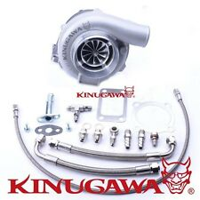 "Kinugawa Ball Bearing Turbocharger 4"" GTX3076R 60mm w/ .73 T3 4 Bolt External"