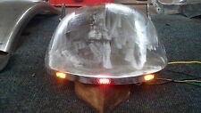 Heckfender-Stahl Harley Breakout / Rocker smooth mit LED-Lichtleiste und LED´s