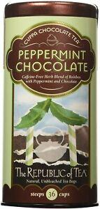 Peppermint Chocolate Tea by The Republic of Tea, 36 tea bag