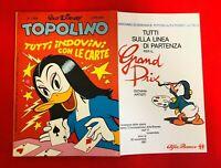 TOPOLINO N.1354 Walt Disney Mondadori - 9 novembre 1981 con doppio inserto