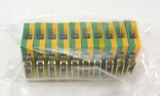 10 x Weidmüller Erdungsklemme TYP EK 16