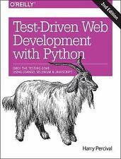 Test-Driven Development with Python: Obey the Testing Goat: Using Django, Seleni