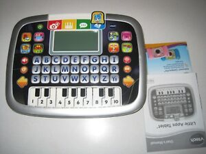 VTech Little Apps Tablet, Black  NEVER USED WITHOUT BOX AND MANUAL