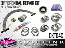 FRONT OR REAR DIFF BEARING & SEAL REPAIR KIT SUIT TOYOTA HILUX - SURF - CRUISER