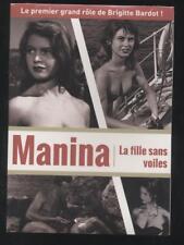 NEUF DVD MANINA LA FILLE SANS VOILES 1952 BRIGITTE BARDOT  SOUS BLISTER ROZIER