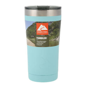 Ozark Trail Double-wall Vacuum-sealed Stainless Steel Tumbler Teal 20 oz