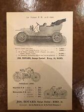 Sales brochure FN 1907