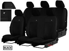 EcoLeather Seat Covers FORD TRANSIT CUSTOM DOUBLE CAB 2018 2019