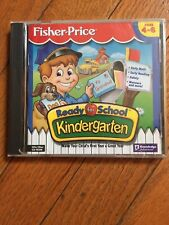 1075) Fisher Price Ready For School Kindergarten Win/Mac Cd-Rom Ages 4-6 Sealed