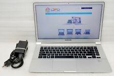 """Samsung NP900X4d Intel Core i5 3317u 1.7ghz 8gb 256gb SSD 15"""" windows 10 Pro x64"""