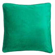 "Green Velvet Cushion Cover 30 Cm Ethnic Soft Classy Pillow Case Throw 12""X 12"""
