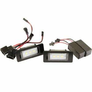 LED Kennzeichenbeleuchtung für Skoda Fabia II + III | Schräg + Kombi [7302-5050]