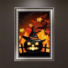 Halloween 5D Diamond Painting DIY Embroidery Cross Stitch Home Decor Crafts Kits