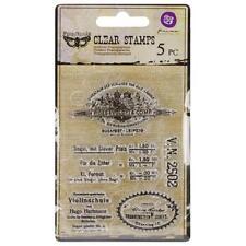 VINTAGE VANITY 1 - Finnabair / Prima Clear Stamps #960933