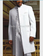 high quality White Long style Groom Tuxedos/Wedding Men's Suit Bridegroom Suits