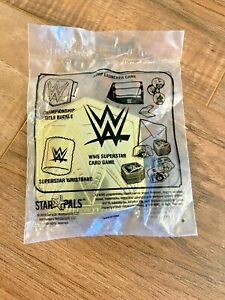 NEW IN PACKAGE WWE CHAMPIONSHIP TITLE BUCKLE KIDS MEAL 2019 Carls Jr
