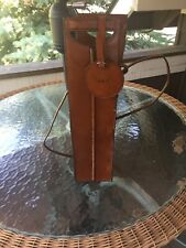 Leather Wine Bottle Bag Carrier