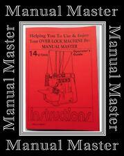 Singer 14U 134 A Plusieurs Opérateurs Guide Machine à coudre manuel livret
