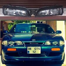 NissaN Custom Projector Headlights All Chrome S14 200sx 240sx Zenki 95 OEM JDM