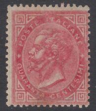 Regno Vittorio Em. II° 1866 c.40 Torino, gomma integra, Cert. Raybaudi - 162