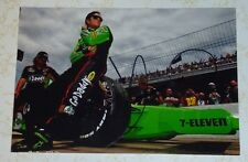 Danica Patrick auto photo signed NASCAR Daytona 500 Go Daddy